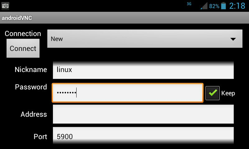 Android VNC Viwer