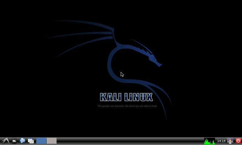 Kali Linux Android Home Screen